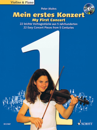 My First Concert – for Violin and Piano - 22 Easy Concert