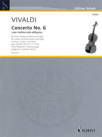 Antonio Vivaldi – Concerto No. 6 in A minor, Op. 3/6, RV 356