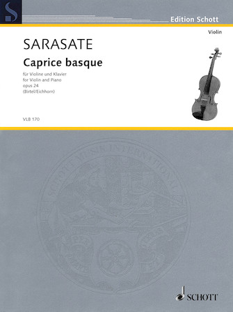Product Cover for Pablo de Sarasate – Caprice Basque, Op. 24