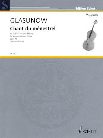 Product Cover for Alexander Glazunov – Chant du ménestrel, Op. 71