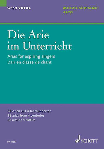 Product Cover for Arias for Aspiring Singers (Die Arie im Unterricht)