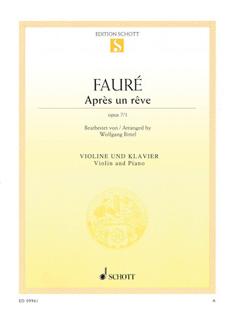 Product Cover for Après un rêve, Op. 7, No. 1