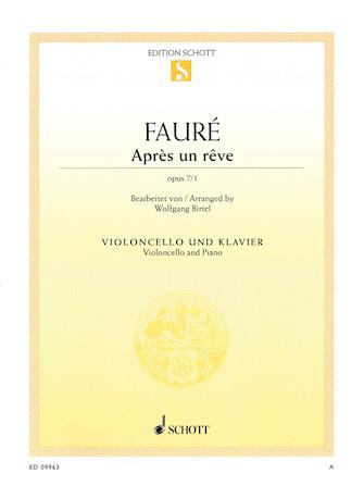 Product Cover for Après un rêve, Op. 7, No. 1