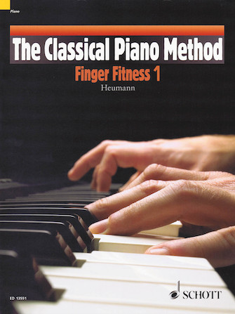 Product Cover for The Classical Piano Method – Finger Fitness 1