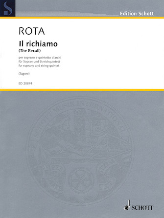 Product Cover for Il richiamo