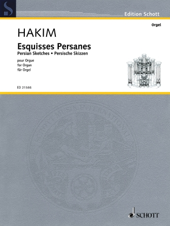 Product Cover for Esquisses Persanes (Persian Sketches)