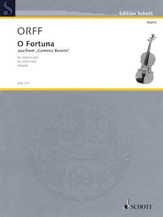 Product Cover for O Fortuna from Carmina Burana