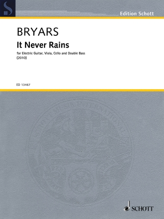 Product Cover for It Never Rains