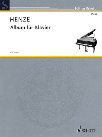 Product Cover for Album for Piano