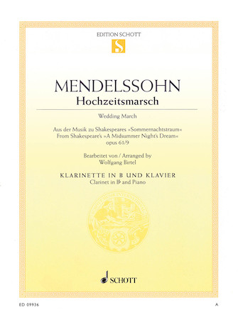 Product Cover for Wedding March, Op. 61, No. 9