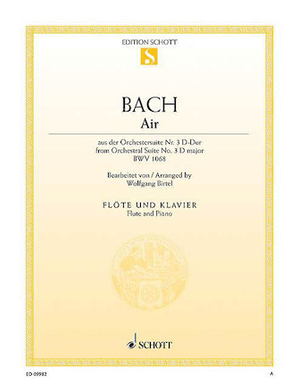 Product Cover for Air from Orchestral Suite No. 3 in D Major BWV 1068