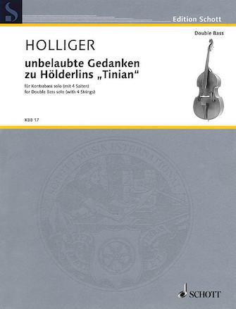 """Product Cover for Unbelaubte Gedanken zu Hölderlins """"Tinian"""""""