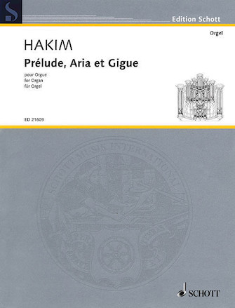 Product Cover for Prélude, Aria et Gigue
