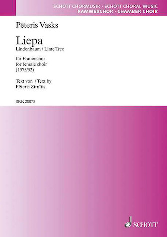 Product Cover for Liepa (der Lindenbaum / The Lime Tree) Ssaa, Latvian