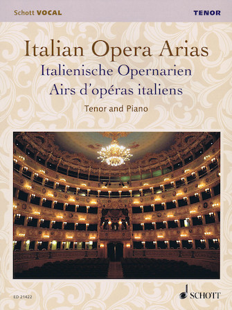 Product Cover for Italian Opera Arias