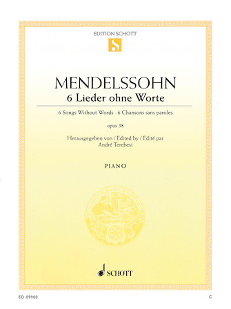 Product Cover for Six Songs Without Words Op. 38