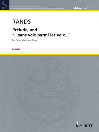"Product Cover for Prélude, and ""...sans voix parmi les voix..."""