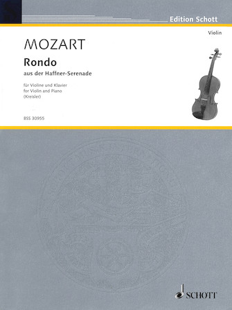 Product Cover for Rondo from the Haffner-Serenade, KV. 250