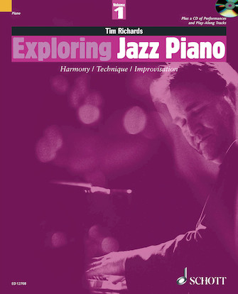 Product Cover for Exploring Jazz Piano – Volume 1