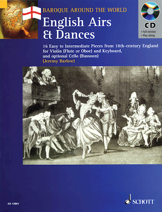 Product Cover for English Airs & Dances