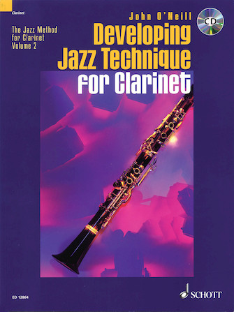 Product Cover for Developing Jazz Technique for Clarinet