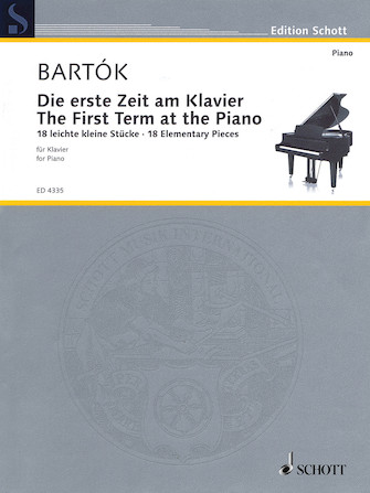 Product Cover for The First Term at the Piano – 18 Elementary Pieces