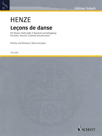 Product Cover for Leçons de danse