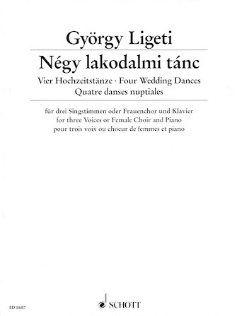 Product Cover for Four Wedding Dances