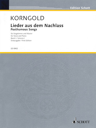 Product Cover for Lieder aus dem Nachlass (Posthumous Songs) – Volume 1