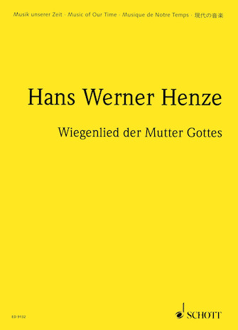Product Cover for Wiegenlied der Mutter Gottes