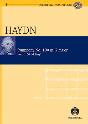 """Product Cover for Symphony No. 100 in G Major (""""Military"""") Hob. I:100 """"London No. 12"""""""