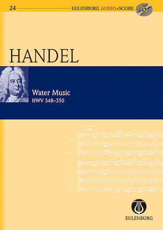 Product Cover for Water Music HWV 348-350