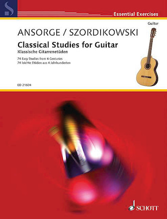 Product Cover for Classical Studies for Guitar
