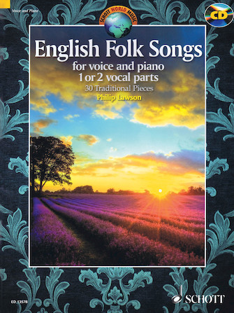 Product Cover for English Folk Songs for Voice and Piano