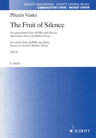 Product Cover for The Fruit of Silence