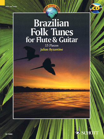 Product Cover for Brazilian Folk Tunes For Flute & Guitar