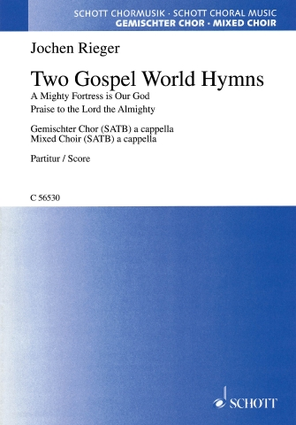 Product Cover for Two Gospel World Hymns