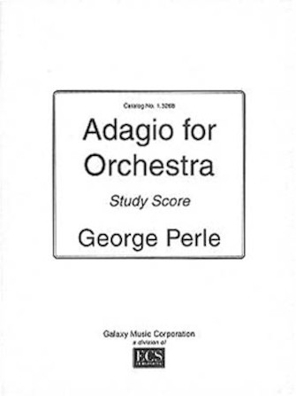 Product Cover for Adagio For Orchestra (study Score)