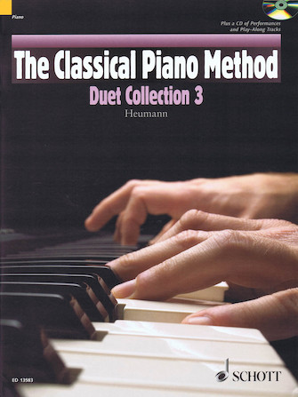 Product Cover for The Classical Piano Method – Duet Collection 3