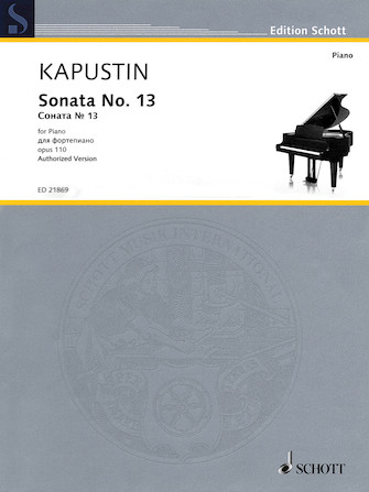 Product Cover for Sonata No. 13, Op. 110