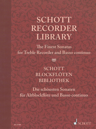 Product Cover for Schott Recorder Library