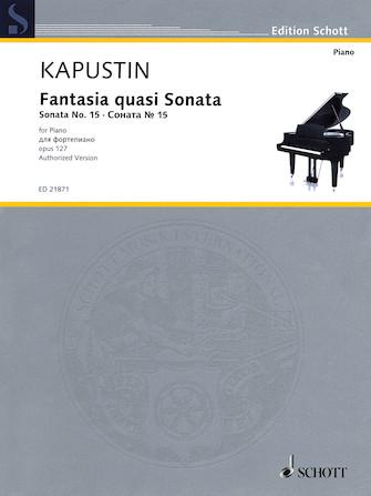 Product Cover for Fantasia quasi Sonata Op. 127 (Sonata No. 15)