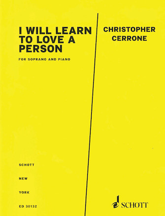 Product Cover for I Will Learn to Love a Person