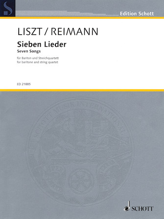 Product Cover for Seven Songs by Franz Liszt