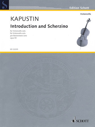 Product Cover for Introduction and Scherzino, Op. 93