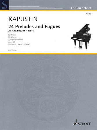 Product Cover for 24 Preludes and Fugues Op. 82
