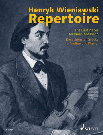 Product Cover for Henryk Wieniawski Repertoire – The Best Pieces for Violin and Piano