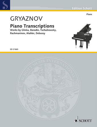 Product Cover for Piano Transcriptions