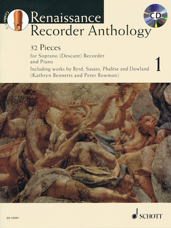 Product Cover for Renaissance Recorder Anthology – Volume 1