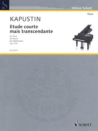 Product Cover for Etude courte mais transcendante, Op. 149